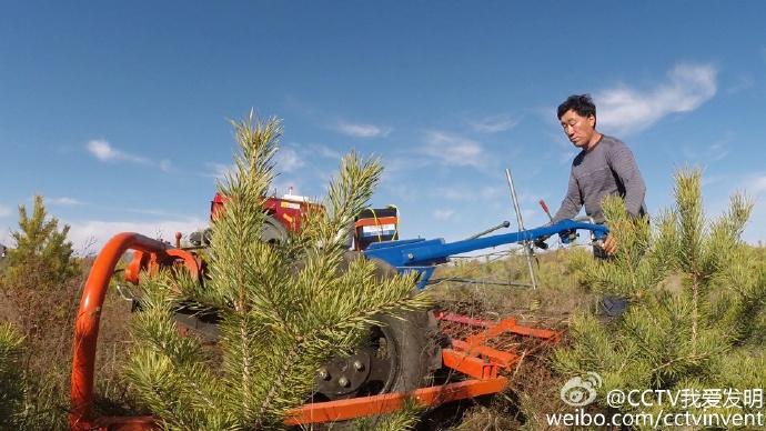 我爱发明牧草收割机