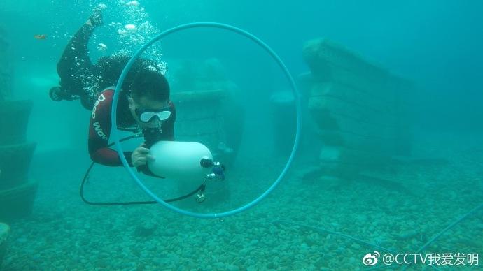 我爱发明潜水推进