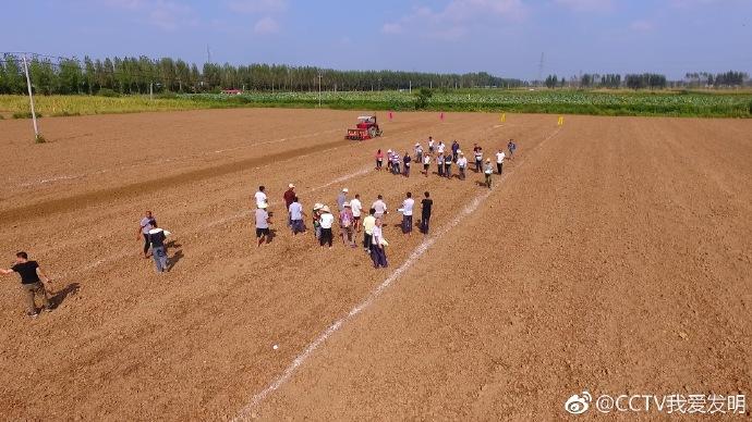 刘冬强发明小麦播种机器