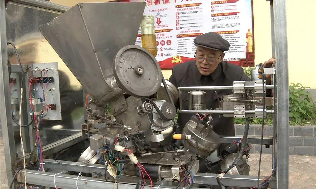 我爱发明全自动烧饼机