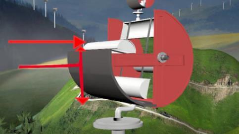 白建东发明风力发电机