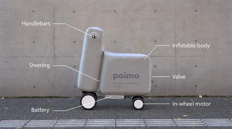 充气电动车